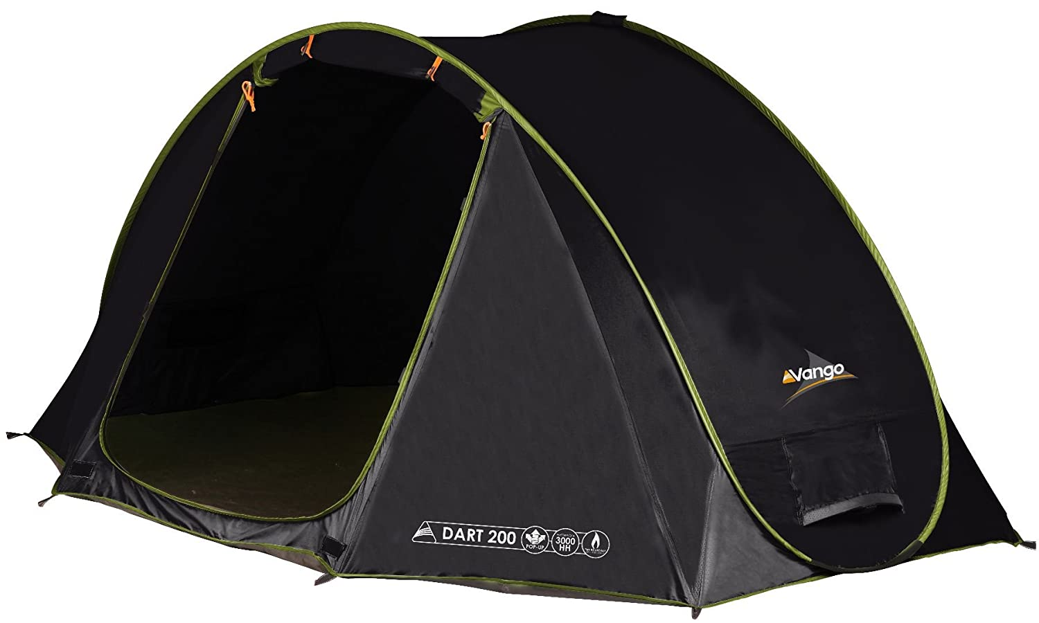 Vango Pop-Up Tent Dart 200 / 230 x 180 x 105 CM Black black / treetops Size230x180x105cm Amazon.co.uk Sports u0026 Outdoors  sc 1 st  Amazon UK : pop up two man tent - memphite.com