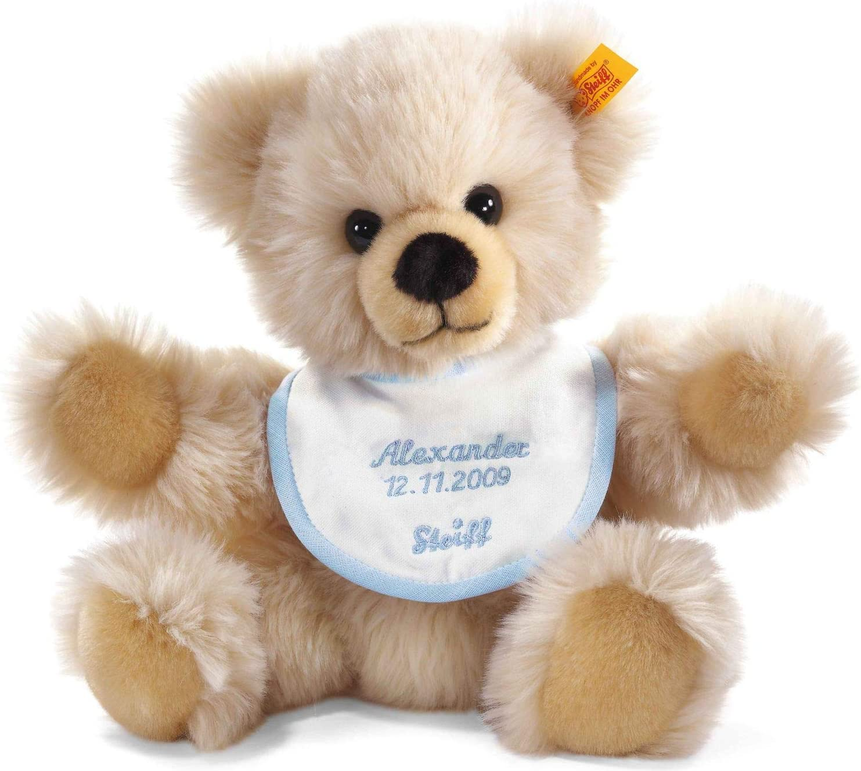 Steiff Baby/_Girls Mit S/ü/ßer teddyb/ärapplikation Dungarees