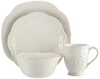 Lenox French Perle 4-piece Place Setting Dinnerware Set
