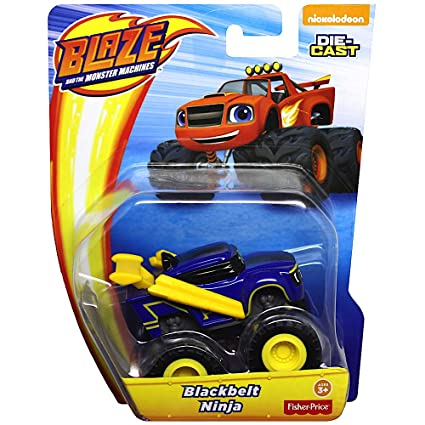 Amazon.com: Blackbelt Ninja Blaze Monster Truck Diecast ...