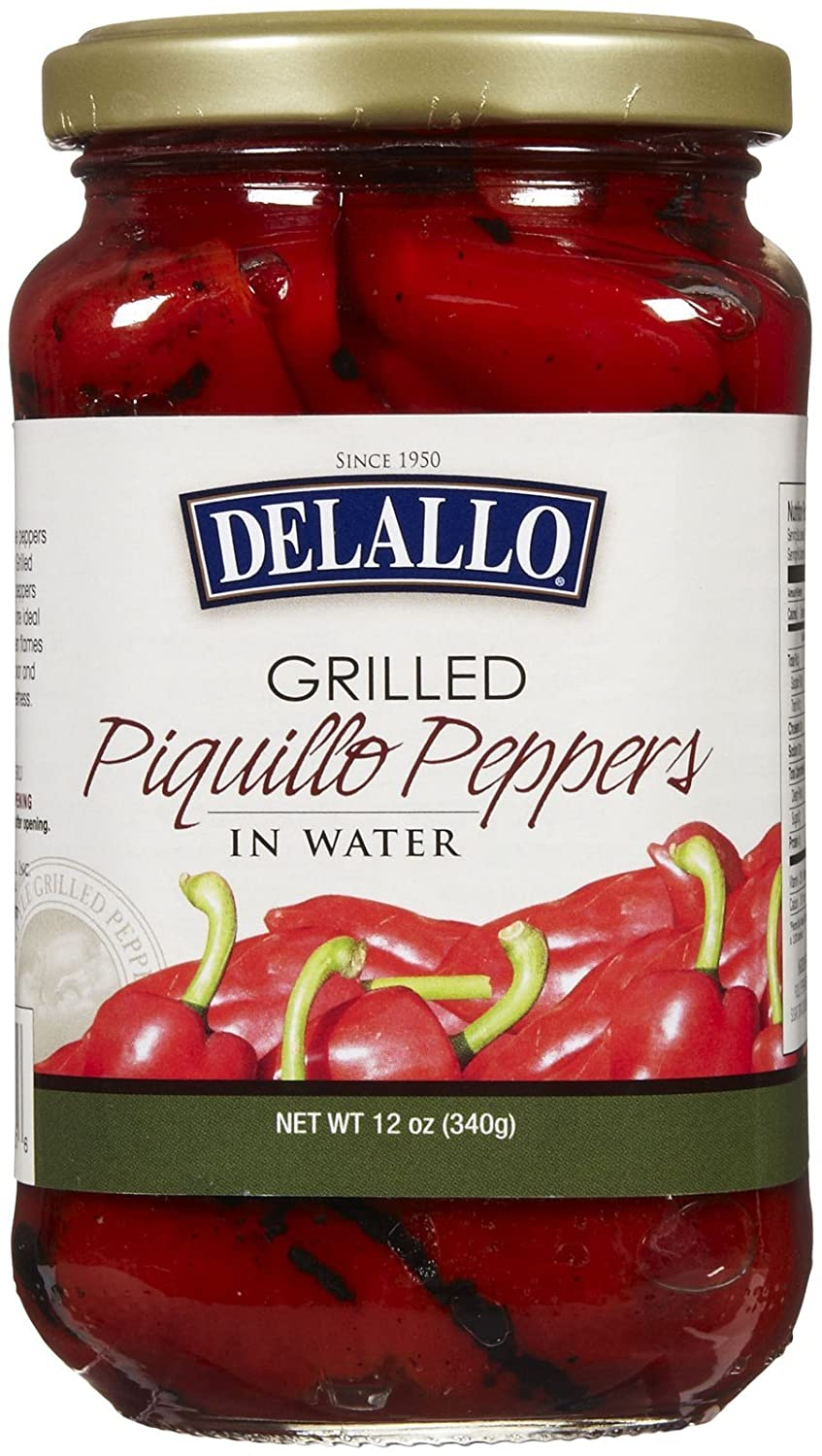 B00MN3DEQY Delallo Grilled Piquillo Pepper, 12 oz 71FfZJmEr1L