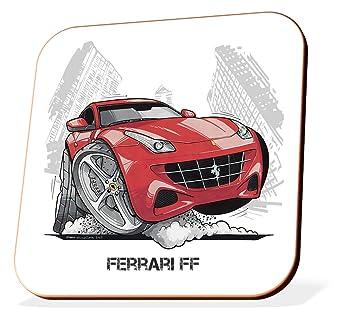 Koolart Gifts K3210,CS Cartoon of Ferrari FF , Caricature