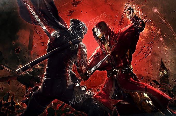 Amazon.com: MCPosters - Ninja Gaiden 3 Razors Edge PS3 XBOX ...