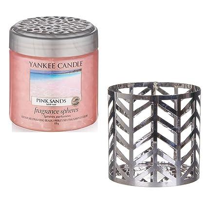 Yankee Candle Jar Holder Arrow Chrome