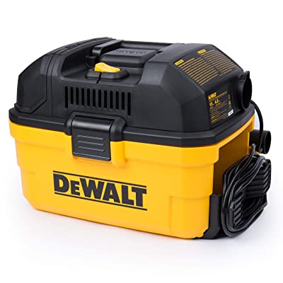 DeWALT Portable 4 gallon Wet/Dry Vaccum, Yellow