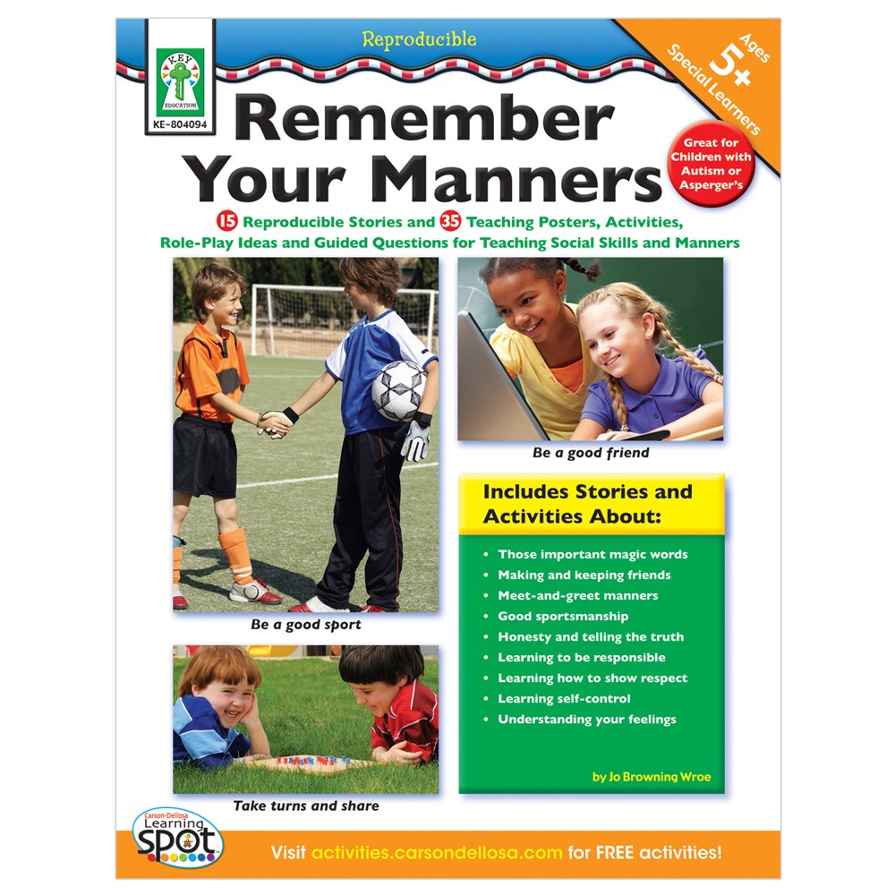 Download Remember Your Manners, Ages 5 - 11 pdf epub