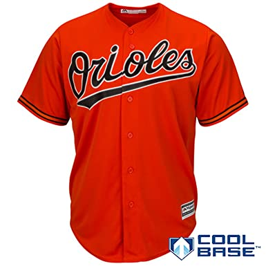 Outerstuff Baltimore Orioles Blank Orange Kids Cool Base Alternate Replica  Jersey (Kids 7) 59aa9a7bd