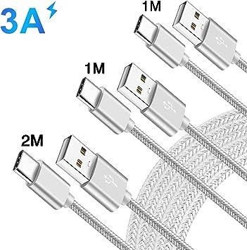 1M 1M 2M Câble Chargeur pour Xiaomi Redmi Note 8 Pro,8T,7,Mi