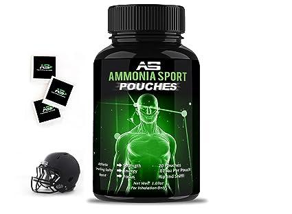 Ammoniasport Sali Atletico Sacchetti 20 Ammoniaca Inalante