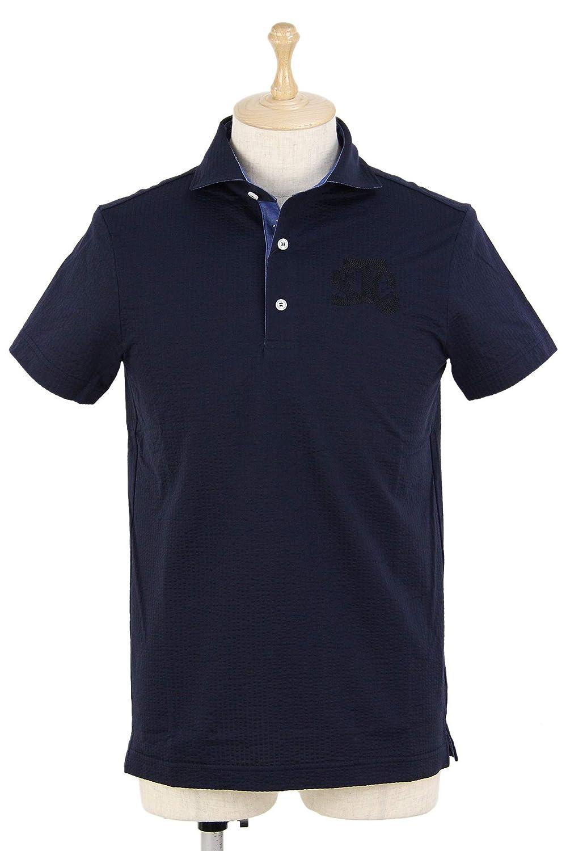 ポロシャツ メンズ セントクリストファー St.Christopher 2019 春夏 ゴルフウェア tm36103 M(48) ネイビー(NVY) B07Q8KP6TH