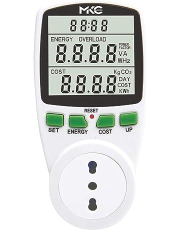 3680W Misuratore di costi energetici con monitor su cavo di 1,5 metri Power Cost Monitor Impostazioni CO2 Data Ora Costo Bearware
