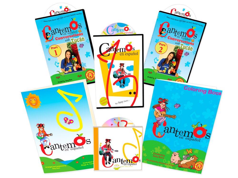 The Gift of Spanish Volume I - Cantemos en Español