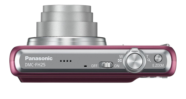 amazon com panasonic dmc fh25v 16 1mp digital camera with 8x wide rh amazon com