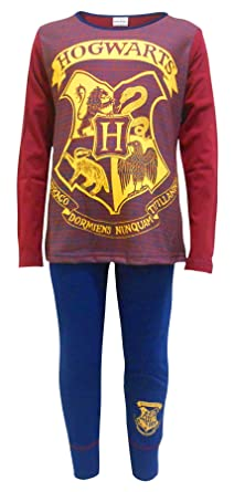 299ebe3ae1193 Harry Potter Girls Harry Potter Pyjamas Hogwarts Ages 4 to 13 Years (5-6  Years): Amazon.co.uk: Clothing