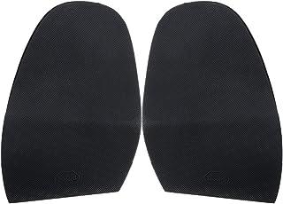 Footful Pair Rubber Half Soles Anti Slip Shoe Repair with Maximum Traction Black
