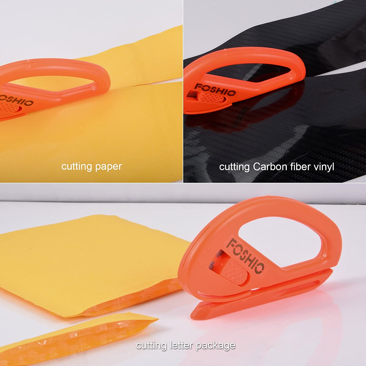 Safety Cutter Vinyl Film Graphic Cutting Tool Wrapping Paper Decals Home Plastic