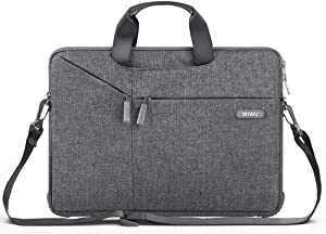 WIWU Upgrade Laptop Bag 15.6 Inch,Bottom Thickening Laptop Shoulder Bag,laptop Carrying Case For Dell Inspiron 15 3000, HP Pavilion15.6 and More Asus Acer Thinkpad Notebooks.