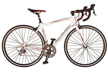 Bicicleta de carretera Rocasanto C-FORK, tamaño ruedas 26, cuadro aluminio color blanco