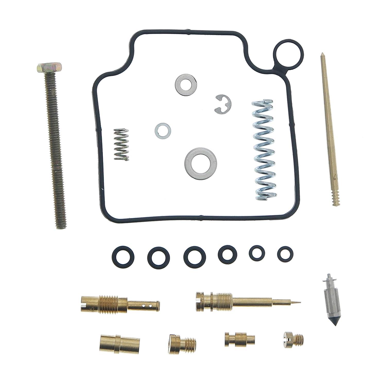 Race Driven Honda OEM Replacement Carburetor Rebuild Repair Kit Carb Kit Foreman 450 TRX450ES//S Race-Driven