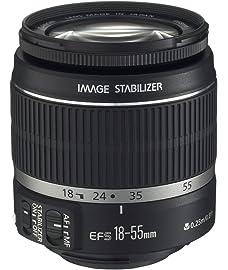 Canon EF S 18 55mm f/3.5 5.6 is II SLR Lens White Box
