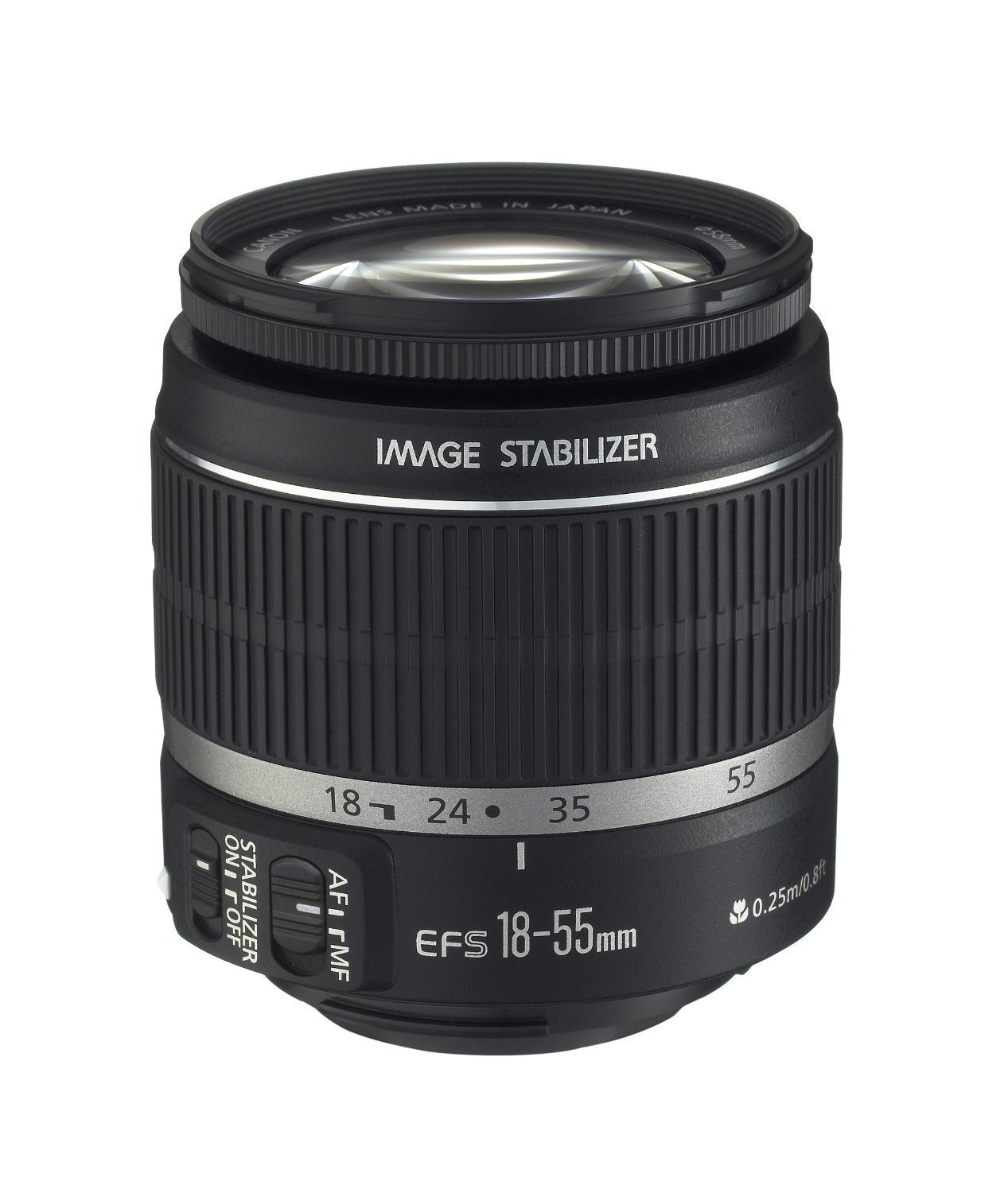 Canon EF-S 18-55mm f/3.5-5.6 IS II SLR Lens White Box by Canon