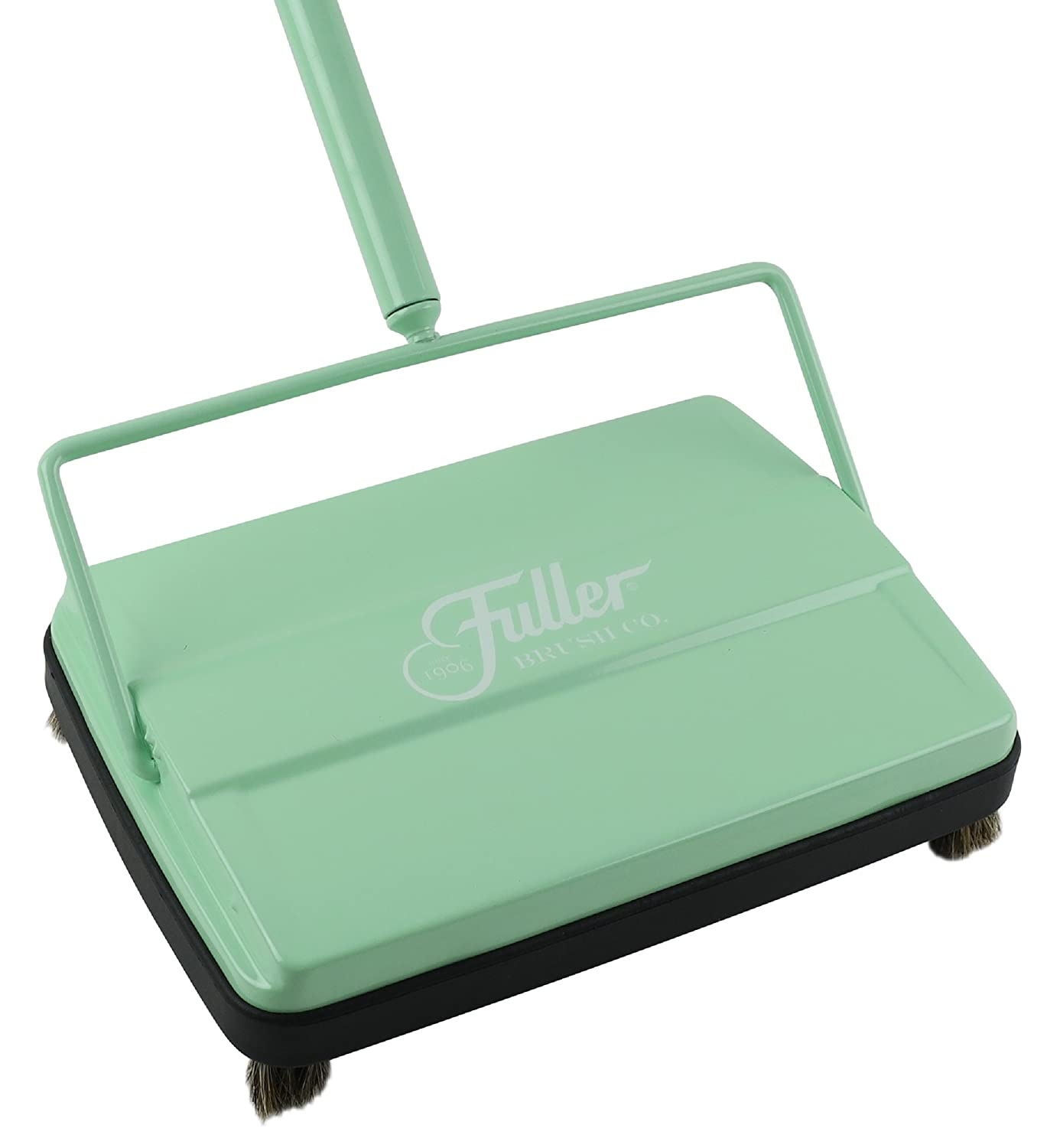 "Fuller Brush Electrostatic Carpet & Floor Sweeper - 9"" Cleaning Path (Mint)"
