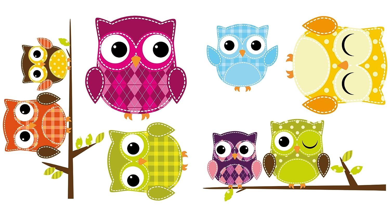 Crearreda CR-64007 Owls Window Decals