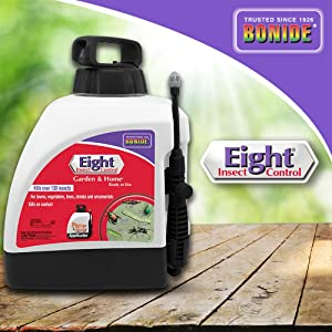 Bonide (BND4281) - Eight Garden & Home Insect Control, Ready to Use Insecticide/Pesticide (1.33 gal.)