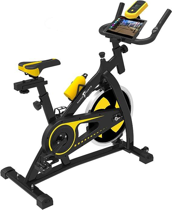 Imagen deBicicleta de Ejercicios Aeróbicos Spinning Nero Sport para Interiores Bicicleta Estática de Entrenamiento Fitness Ejercicios Cardiovasculares
