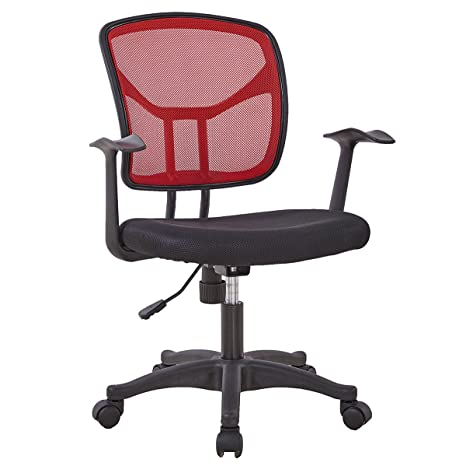 Gizza - Silla de escritorio con respaldo ajustable, diseño ergonómico,