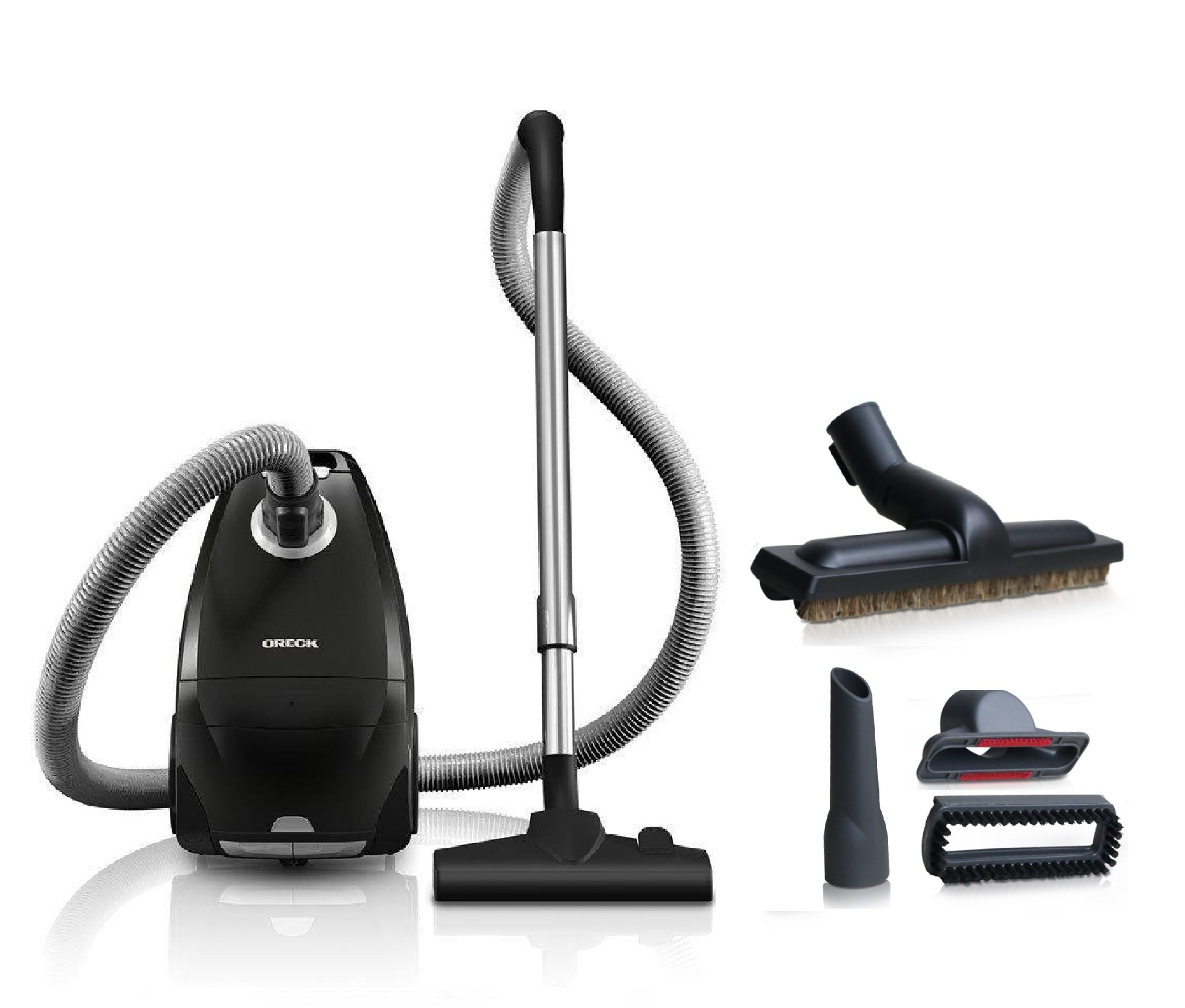 Oreck Venture Hardwood and Floor Bagged Canister Vacuum Cleaner, SK30075PC - Corded