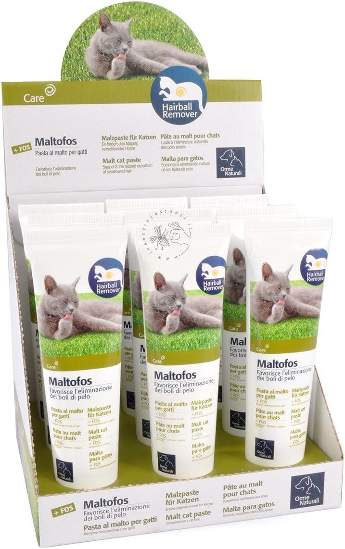 Camon maltofos Pasta con Malta FOS GR. 100 alimento para Gatos: Amazon.es: Productos para mascotas