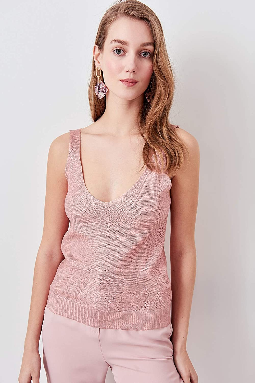 LFMDSY Camisa de la Mujer Casual Elegancia Blusa Dorada Polvo ...