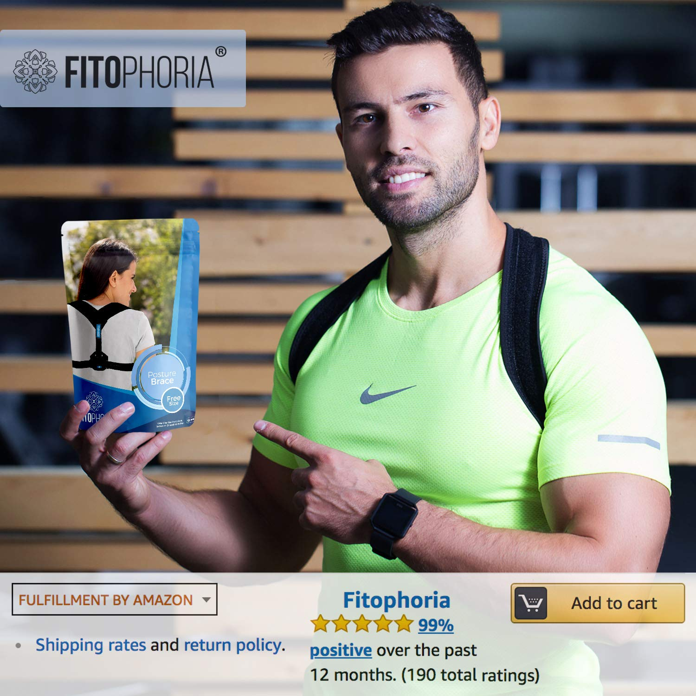 Amazon.com: Fitophoria Corrector de Postura para Mujeres y ...