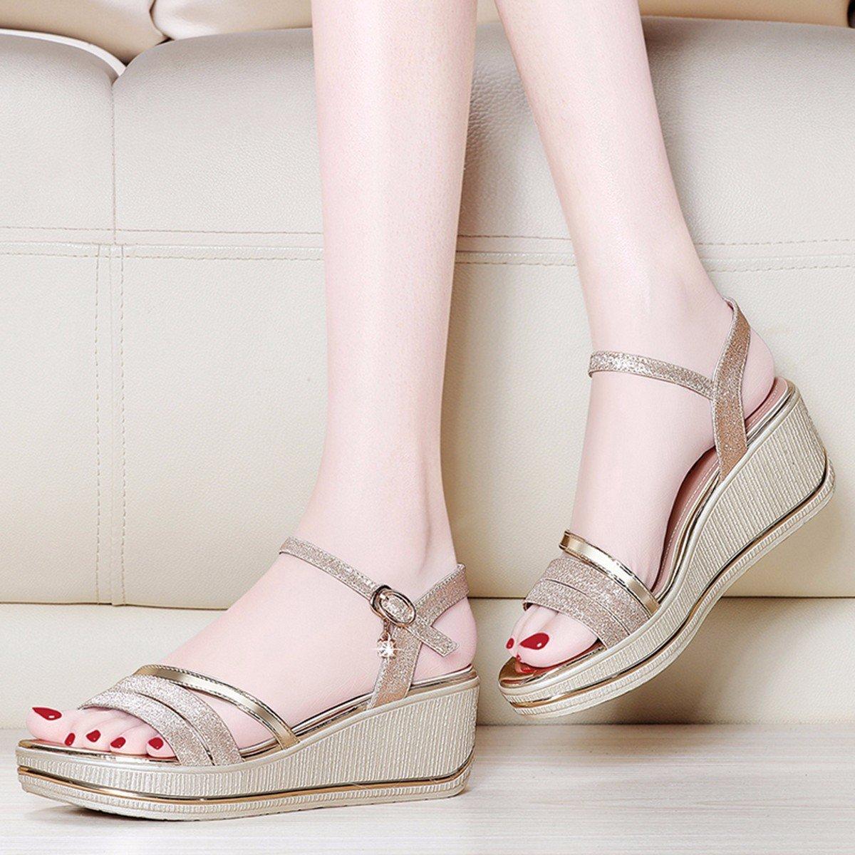 JRFBA-Schuhe Sandalen, Sommer Flachen Boden, Koreanischen Version, Neigung und Dicken Hintern Schuhe.  | Deutschland Store  | Zürich Online Shop