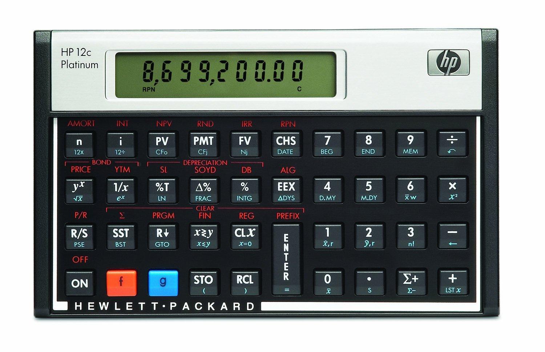 HP 12CP Financial Calculator (Renewed)