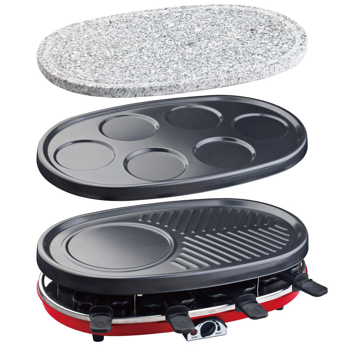 Parrillas planchas raclettes y piedras de asar for Amazon planchas de cocina