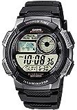 CASIO 系列男式数码手表树脂带–AE-1000W