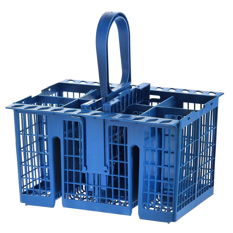 MasterPart Premium Quality 8 Compartment Blue Cutlery Basket For De Dietrich Dishwashers