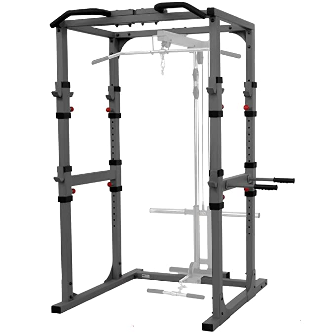 X Mark Fitness Power Rack with LatPulldown