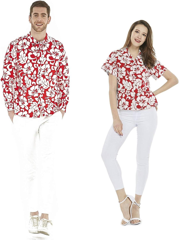 Luau Cruise Outfit - Camisa de Manga Larga para Pareja ...
