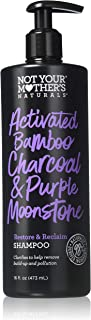 product image for Not Your Mother's, Activated Bamboo Charcoal & Purple Moonstone Shampoo, 16 Fl Oz
