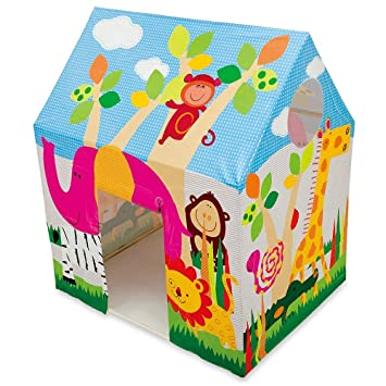 Shop u0026 Shoppee Intex Kids House Tent Playhouse - Fun Cottage For Indoor Or Outdoor  sc 1 st  Amazon India & Buy Shop u0026 Shoppee Intex Kids House Tent Playhouse - Fun Cottage ...