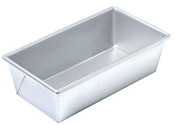 Kitchencraft Chicago II Comercial metálico Aluminio Acero 1,5 kg Molde Rectangular DE, 25