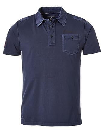 Fabrik authentisch begehrte Auswahl an weltweit verkauft GIN TONIC Men's Polo Shirt - Blue - Deep Sea - Large: Amazon ...