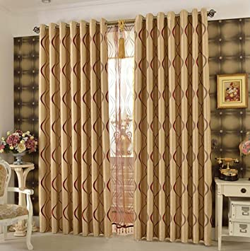 Gardinen für Wohnzimmer, Modern Einfachheit Blickdicht ...