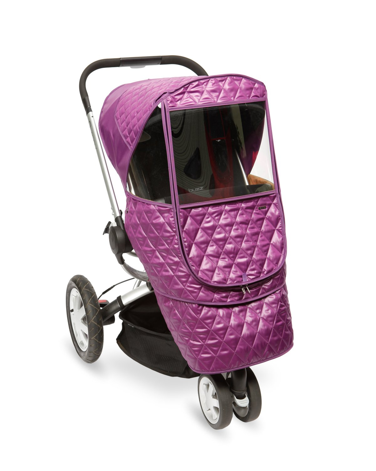 Manito Castle Beta Stroller Weather Shield (Purple)