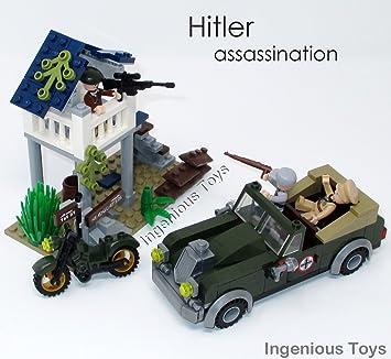 Militaire De Jouets Mondiale Assassinat Construction1708 Hitler Seconde Ingenious 206pcs Bloques Guerre Set hrxtQdBCs