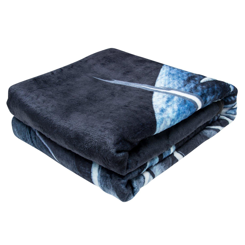 Marvel Black Panther Fleece Blanket - Officially Licensed Marvel Black Panther Movie Soft Silk Throw Bed Blanket by Marvel (Image #7)