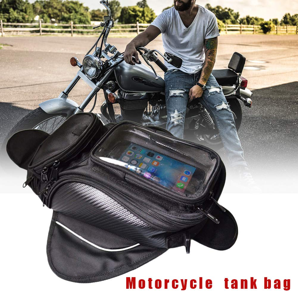 Size : 13.39x7.87x5.91inch LianLe Motorcycle Tank Bag,Waterproof Small Fuel Tank Bag with Strong Magnetic for Riding Organizer,Oxford/Outdoor Sport Bag